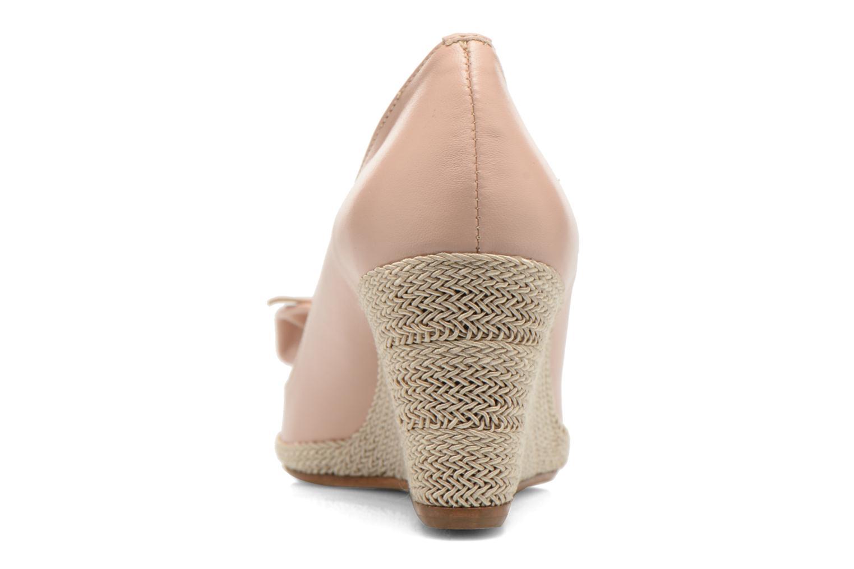 Zapatos de tacón COSMOPARIS Moana Rosa vista lateral derecha