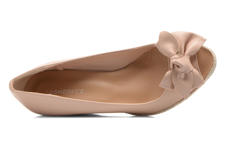 Zapatos de tacón COSMOPARIS Moana Rosa vista lateral izquierda