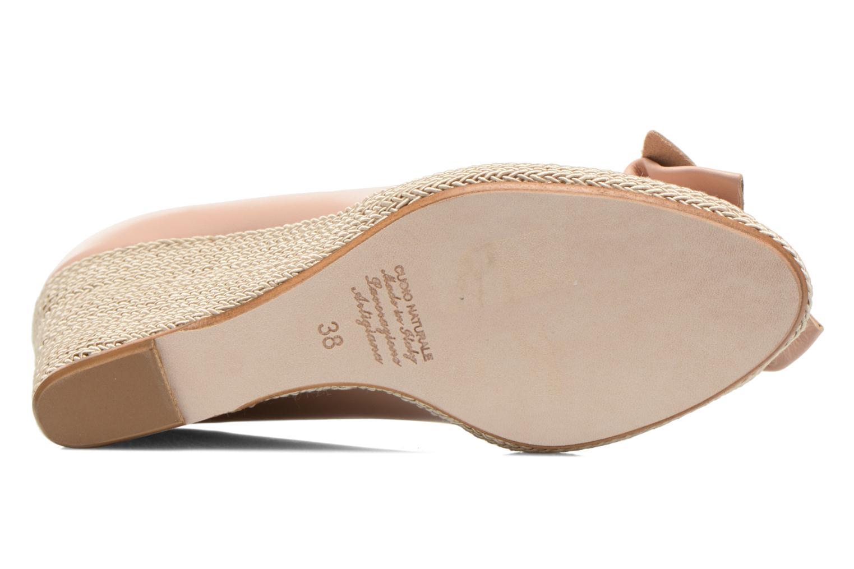Zapatos de tacón COSMOPARIS Moana Rosa vista de arriba