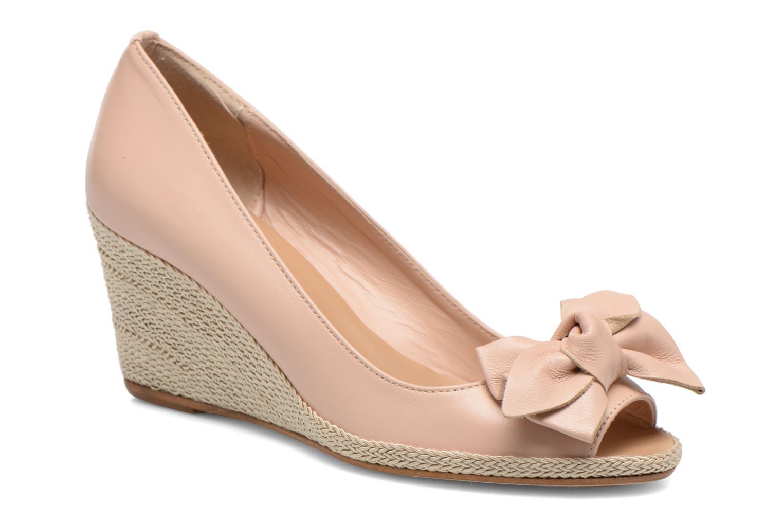 High heels COSMOPARIS Moana Pink detailed view/ Pair view