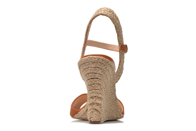 Sandales et nu-pieds COSMOPARIS Jobi/nub Marron vue droite