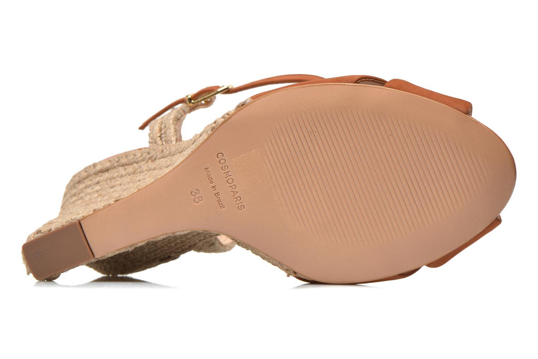 Sandales et nu-pieds COSMOPARIS Jobi/nub Marron vue haut