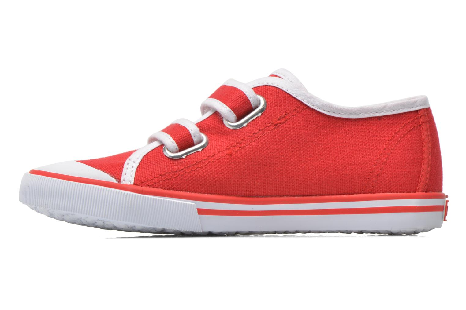 Trainers Aigle Borizo Scratch Kid Red front view