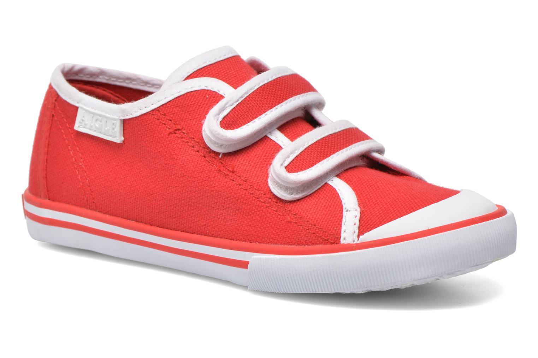 Sneaker Aigle Borizo Scratch Kid rot detaillierte ansicht/modell