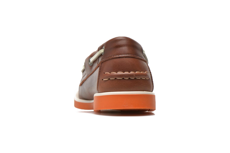 Zapatos con cordones Aigle America Kid Marrón vista lateral derecha