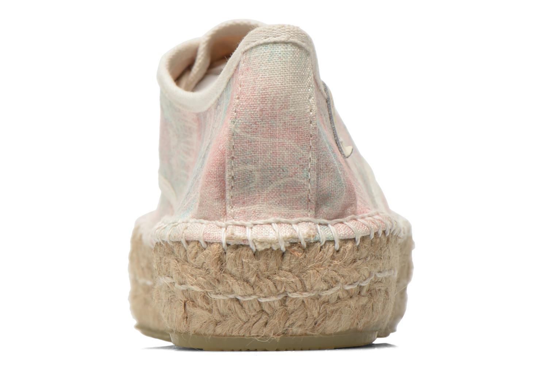 Zapatos con cordones Coolway Juttie Multicolor vista lateral derecha