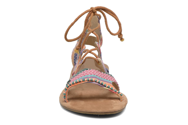 Sandales et nu-pieds Coolway Malawi Multicolore vue portées chaussures