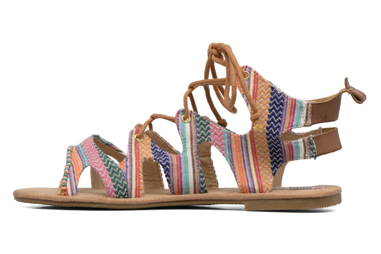Sandales et nu-pieds Coolway Malawi Multicolore vue face
