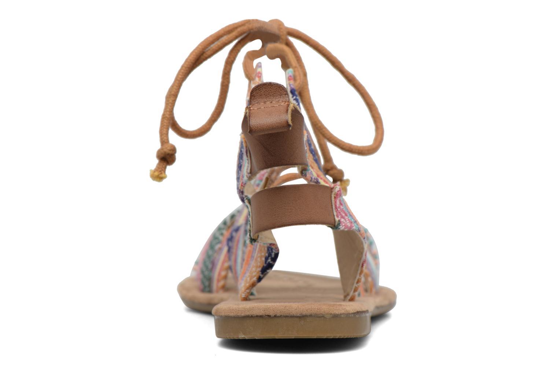 Sandales et nu-pieds Coolway Malawi Multicolore vue droite