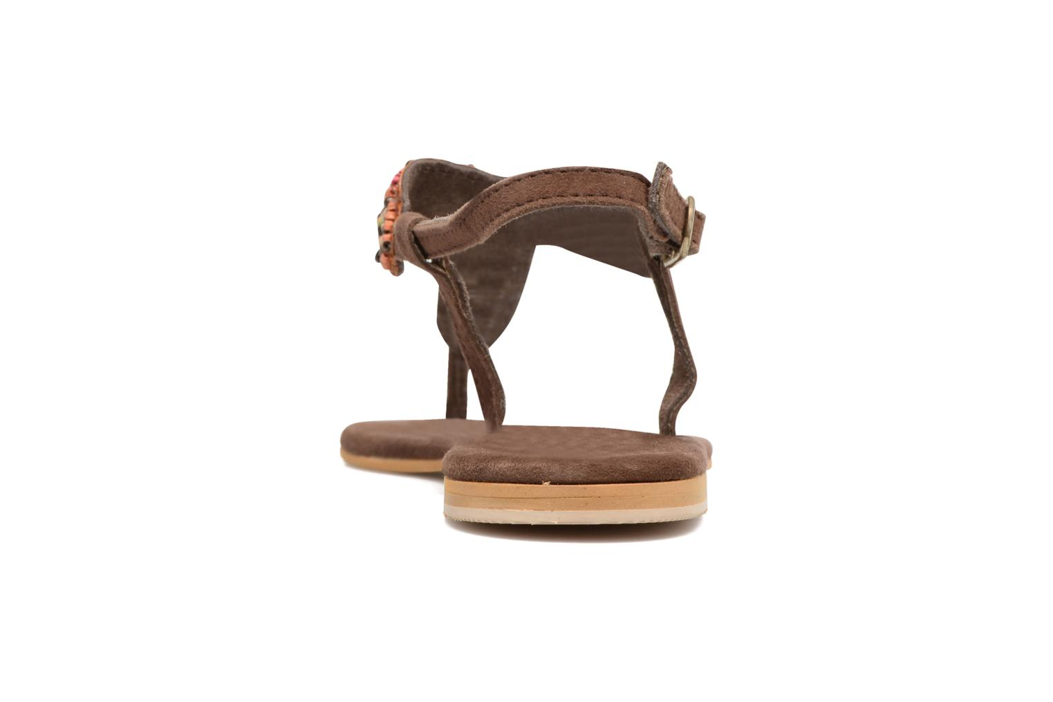 Sandals Coolway Miami Brown view from the right
