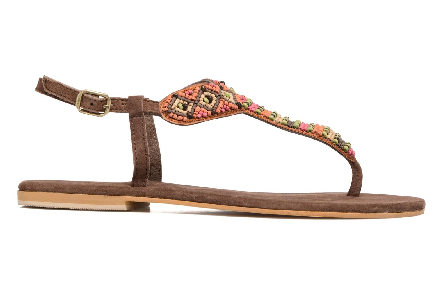 Sandals Coolway Miami Brown back view
