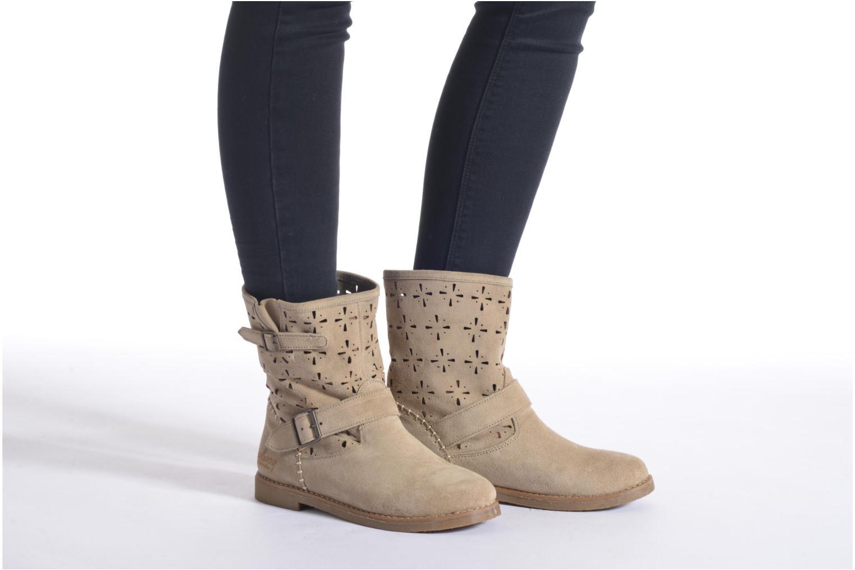 Bottines et boots Coolway Naif Beige vue bas / vue portée sac