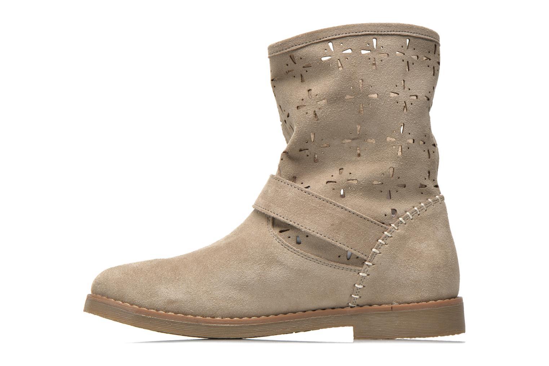 Bottines et boots Coolway Naif Beige vue face