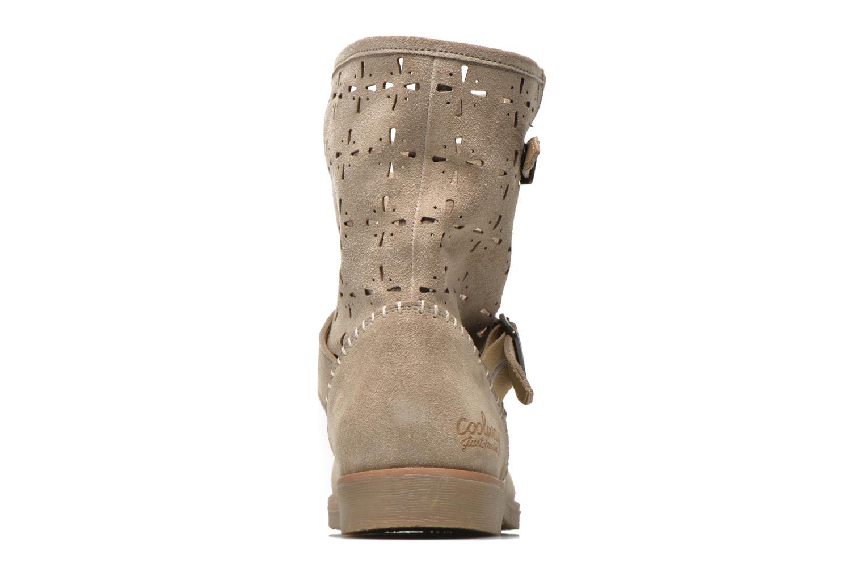 Bottines et boots Coolway Naif Beige vue droite