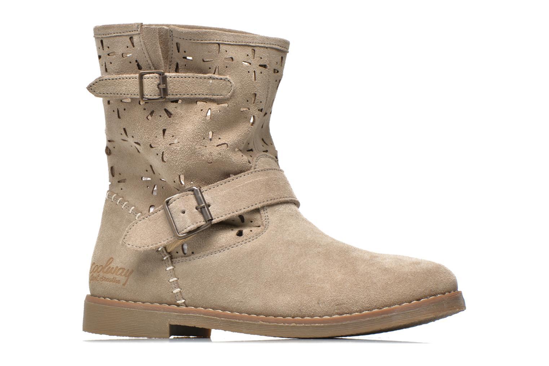 Boots en enkellaarsjes Coolway Naif Beige achterkant