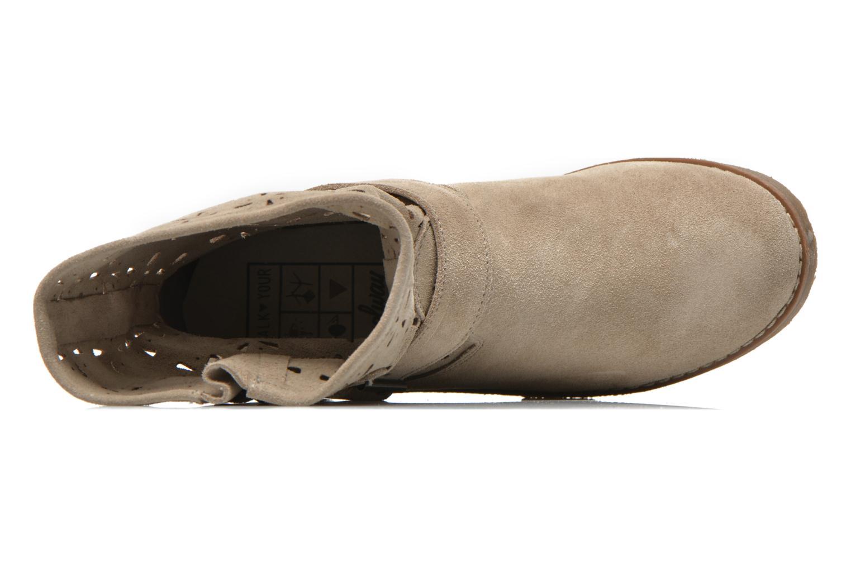 Boots en enkellaarsjes Coolway Naif Beige links