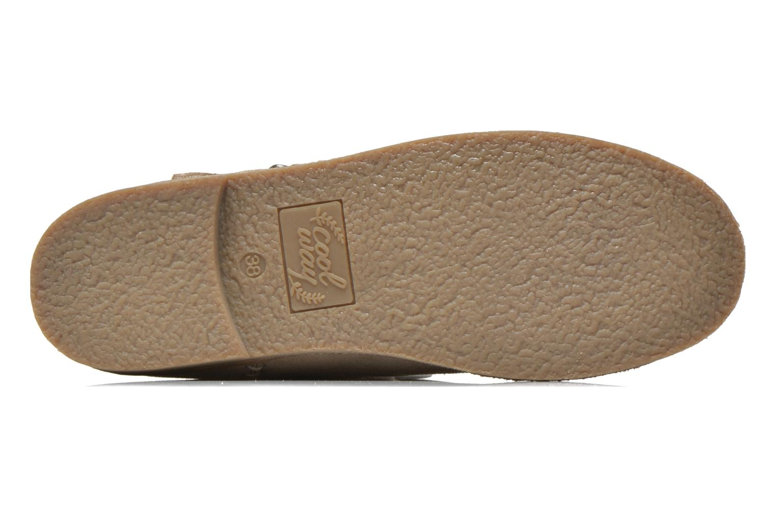 Ankle boots Coolway Naif Beige view from above