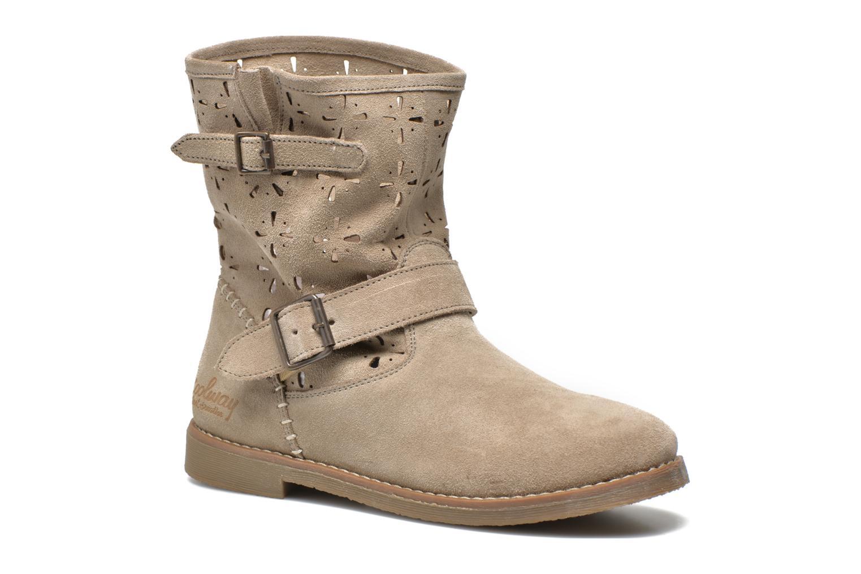 Boots en enkellaarsjes Coolway Naif Beige detail