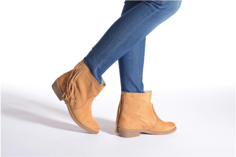 Bottines et boots Coolway Naomi Marron vue bas / vue portée sac