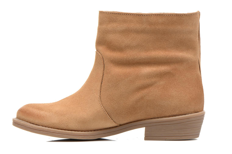 Bottines et boots Coolway Naomi Marron vue face