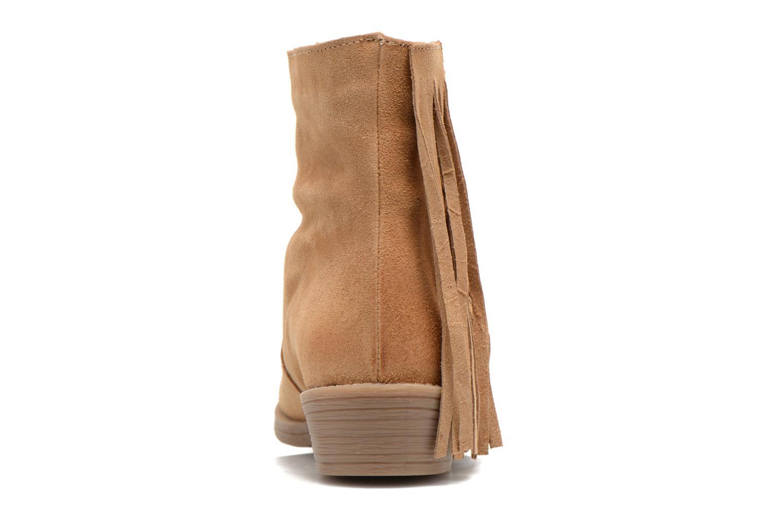 Bottines et boots Coolway Naomi Marron vue droite