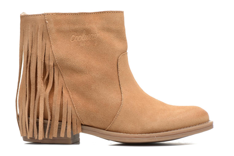Bottines et boots Coolway Naomi Marron vue derrière