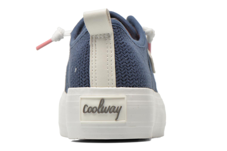 Baskets Coolway tavi Bleu vue droite