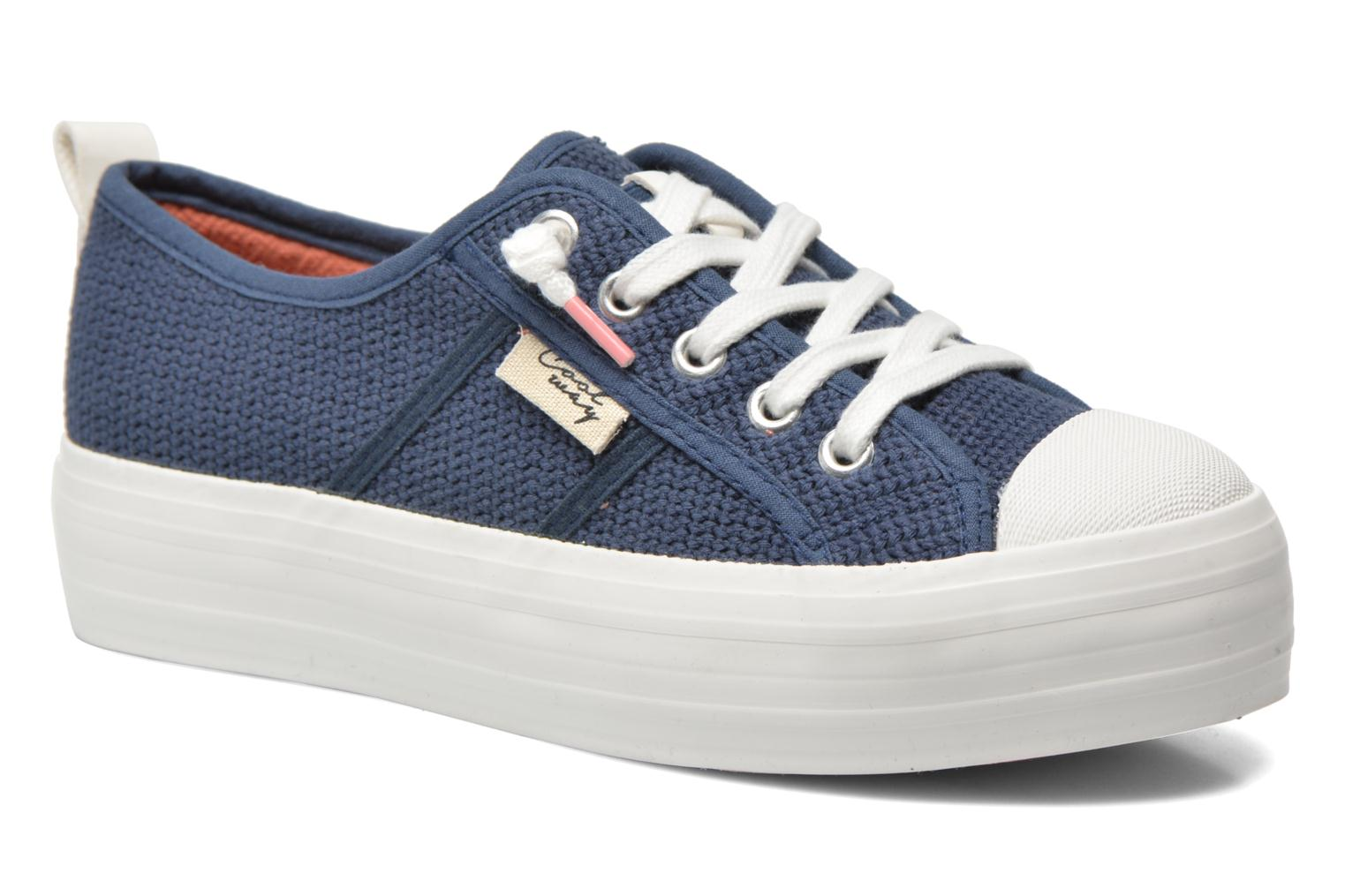 Trainers Coolway tavi Blue detailed view/ Pair view