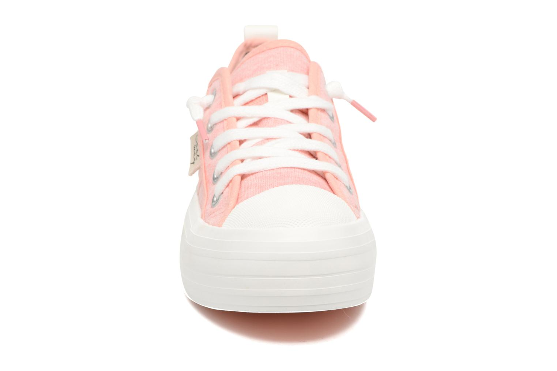 Baskets Coolway tavi Rose vue portées chaussures