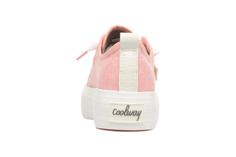 Baskets Coolway tavi Rose vue droite
