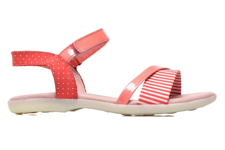 Sandalen Kickers Anyway rosa ansicht von hinten