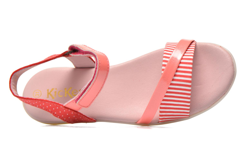 Sandalen Kickers Anyway rosa ansicht von links
