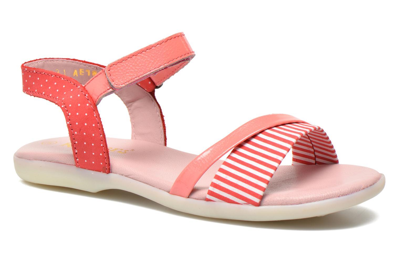 Sandales et nu-pieds Kickers Anyway Rose vue détail/paire