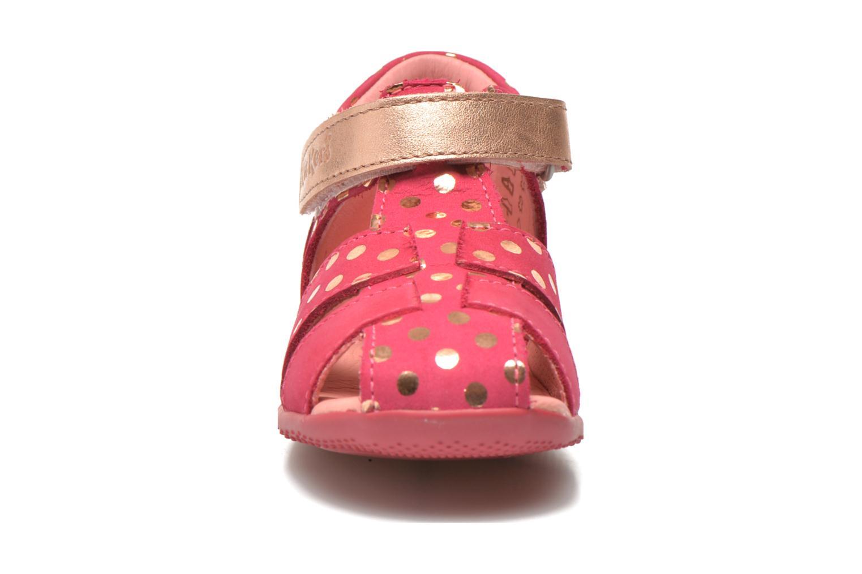 Sandales et nu-pieds Kickers Biggy Rose vue portées chaussures