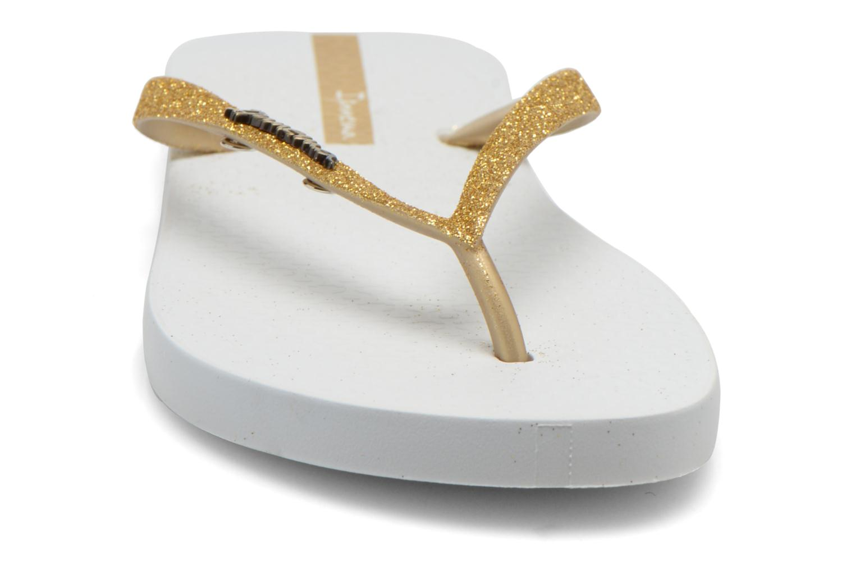 Tongs Ipanema Lolita III Or et bronze vue portées chaussures
