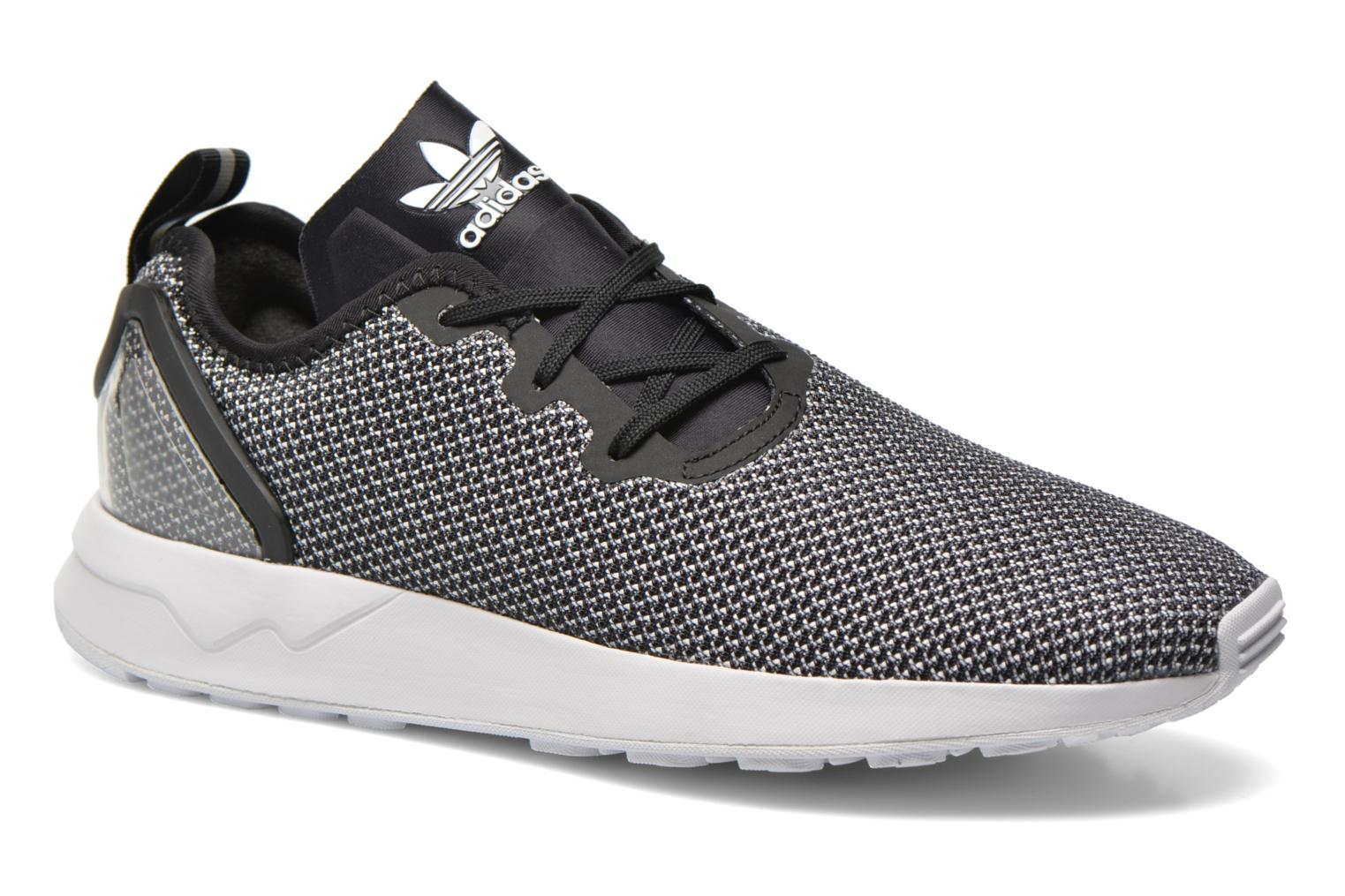 Baskets Adidas Originals Zx Flux Adv Asym Gris vue détail/paire