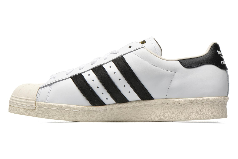 Baskets Adidas Originals Superstar 80S Blanc vue face