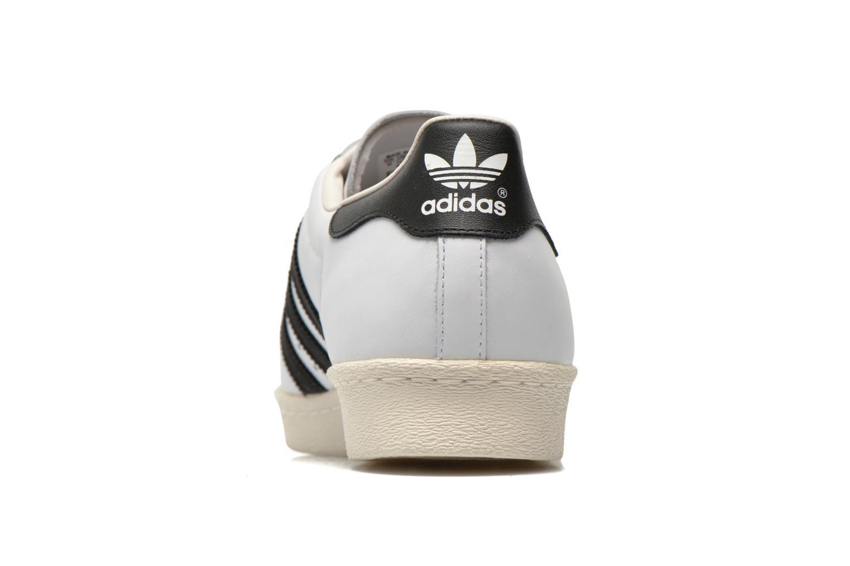 Sneakers Adidas Originals Superstar 80S Bianco immagine destra