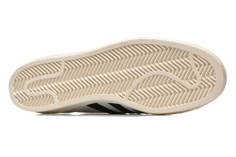 Baskets Adidas Originals Superstar 80S Blanc vue haut