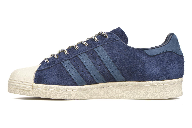 Baskets Adidas Originals Superstar 80S Bleu vue face