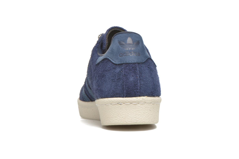 Baskets Adidas Originals Superstar 80S Bleu vue droite