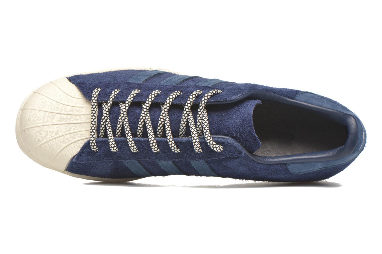 Baskets Adidas Originals Superstar 80S Bleu vue gauche