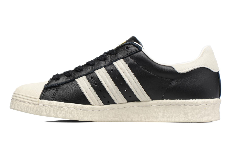 Sneakers Adidas Originals Superstar 80S Zwart voorkant