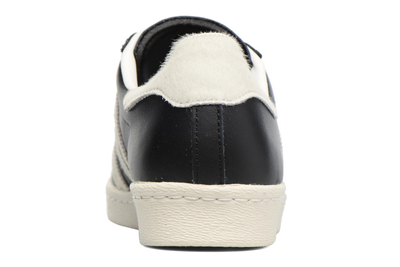 Sneakers Adidas Originals Superstar 80S Zwart rechts
