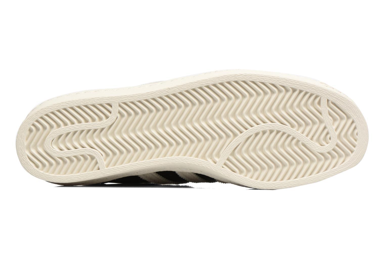 Sneakers Adidas Originals Superstar 80S Nero immagine dall'alto