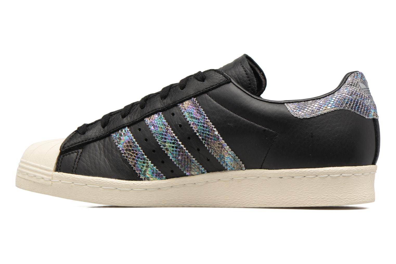 Deportivas Adidas Originals Superstar 80S Negro vista de frente