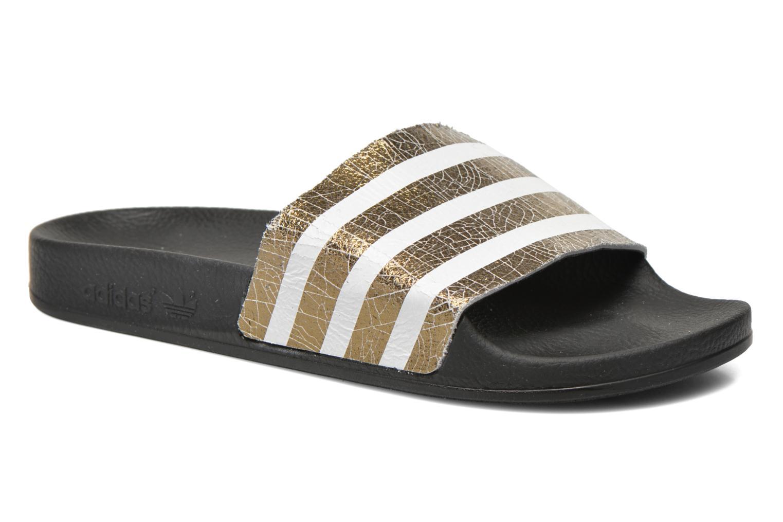 Marques Chaussure femme Adidas Originals femme Adilette W Noiess/Noiess/Noiess PE16