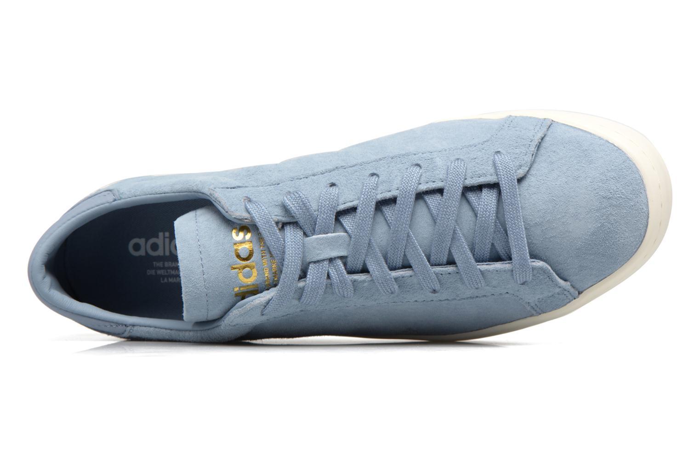 Deportivas Adidas Originals Court Vantage H Azul vista lateral izquierda