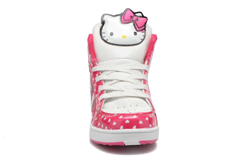 Baskets Hello Kitty Hk Beway Light Rose vue portées chaussures