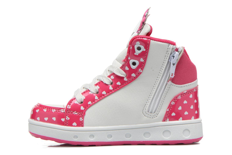 Baskets Hello Kitty Hk Beway Light Rose vue face